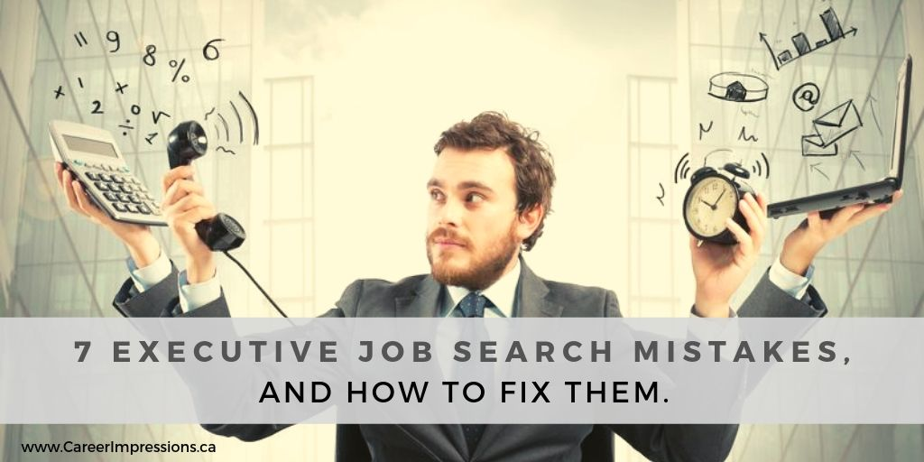 7 Job Search Mistakes