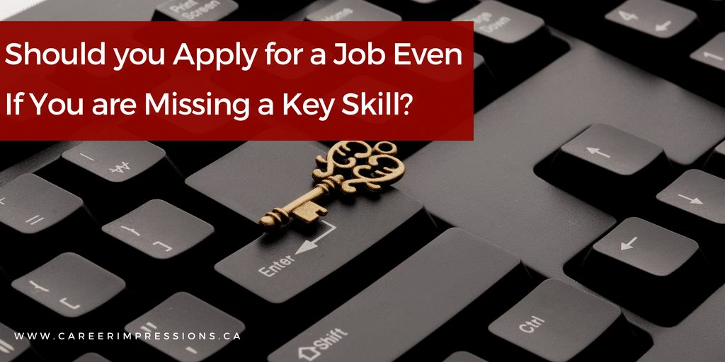 Missing Key Job Skill