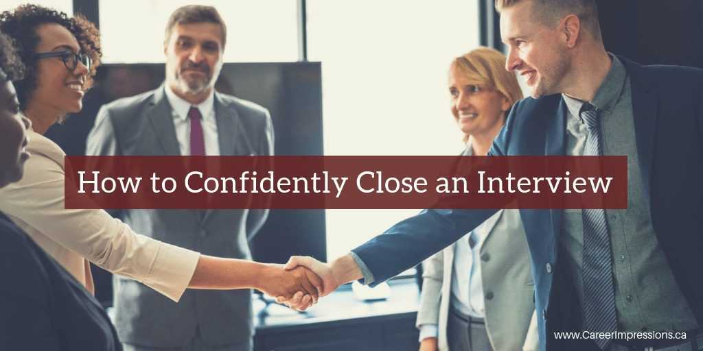Confidently Close an Interview
