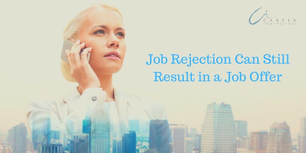 Job Rejection to Job Offer