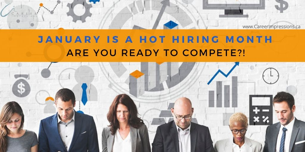 Hot hiring month