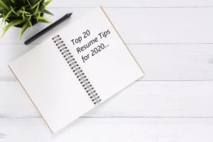 20 Resume Tips For 2020 Career Impressions