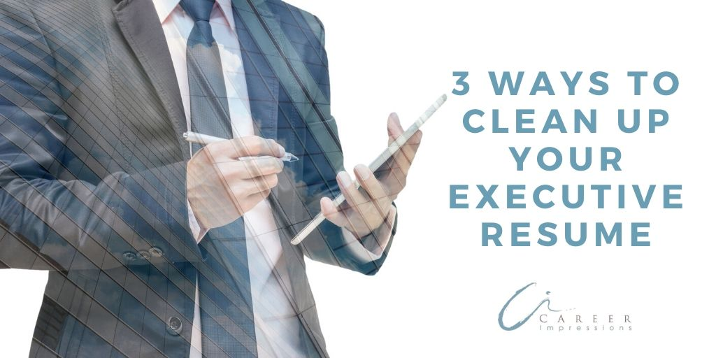 3 ways to clean up resume