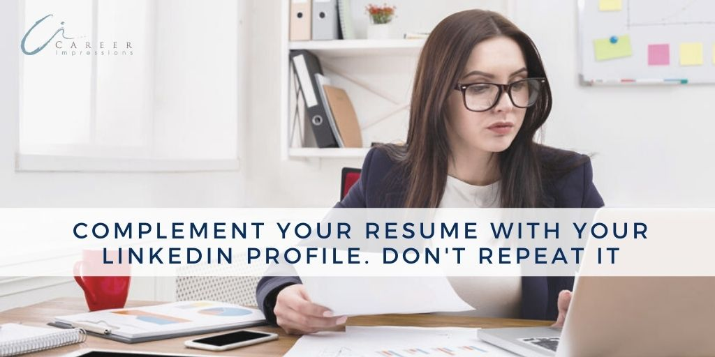 Complement Resume with LinkedIn