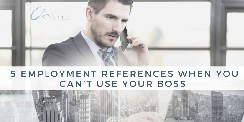 5 Employment References