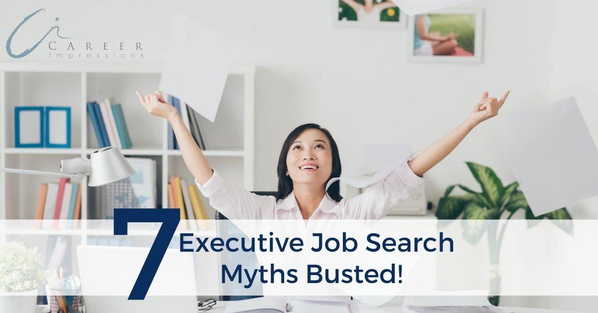 Executive Job Search Myths