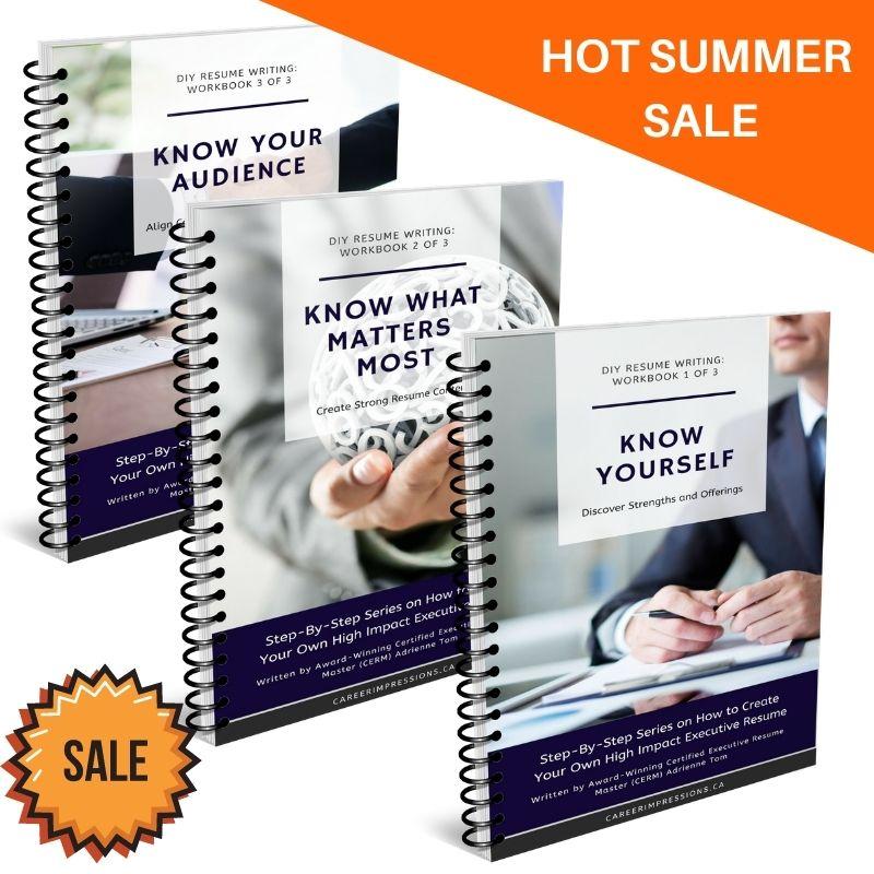 Summer Sale Workbooks for Executives